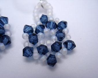 Montana Blue Star Swarovski Earrings