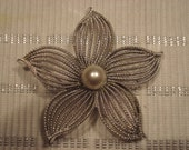 SARAH COVENTRY BROOCH Brooch Silver and large Faux Pearl