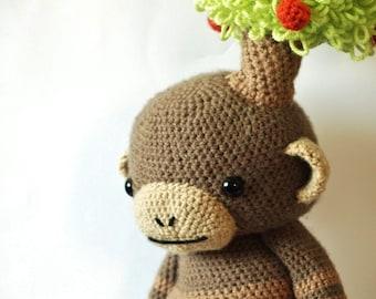 Onklid - Amigurumi Monkey Crochet Pattern