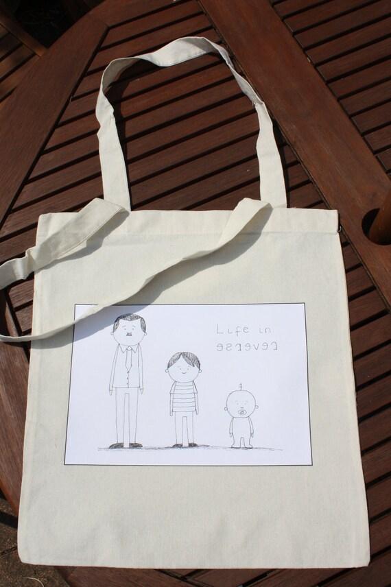 Life in Reverse - Long handle bag