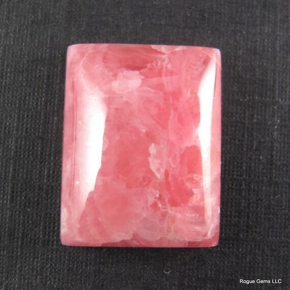 40% OFF: Terrific Pink Rhodochrosite Designer Cabochon.