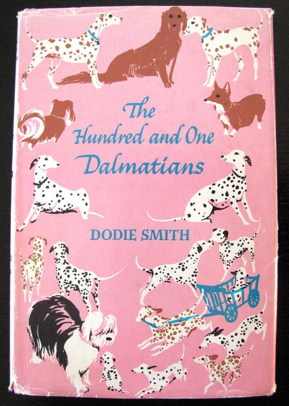 1957 the hundred and one dalmatians vintage book dodie smith