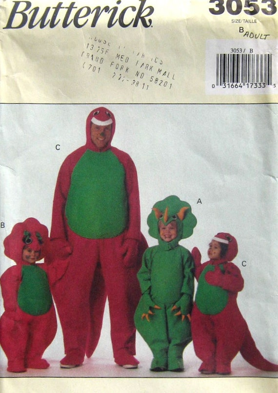 Cheap barney costumes for adults