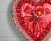 Vintage Red Valentine Candy Box