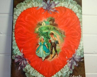Vintage Sweetheart ideals Magazine, Valentine's Day Issue, 16th Volume, Red Heart, Poems