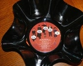Genuine 33rpm Upcycled LP Record Bowl featuring The Go Go's