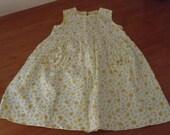 Vintage Darling Toddlers Girl Floral Dress