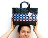 The Cutest Bag- Lila and Blue