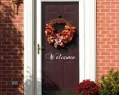 WELCOME Wall Decal Vinyl Art