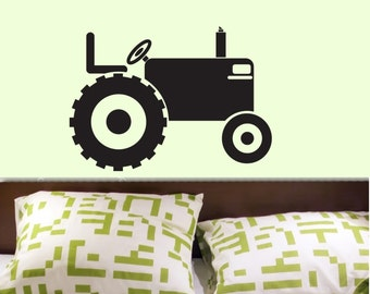 Tractor Customized Vinyl Wall Decal Graphics by DECOmod Walls