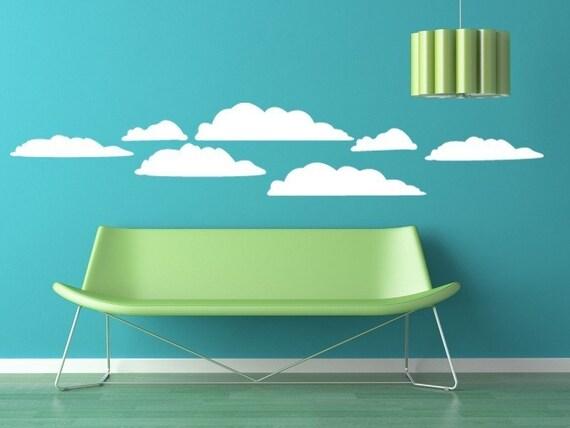 Cloud Kit Vinyl Graphic Wall Decal ORIGINAL Designs by DecoMOD Walls
