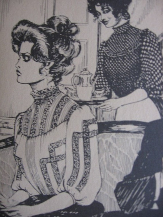 Gibson Girl Blouse Patterns 16