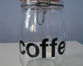 SALE 40% OFF Gotta Love Java Glass Container