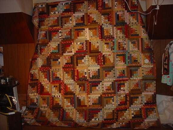 King Size Bed Quilt Log Cabin King Queen Size Quilt 55