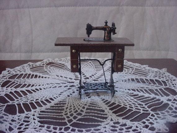 Miniature Treadle sewing machine