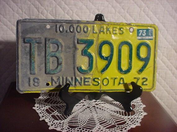 Minnesota Licence Plate