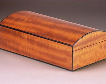 Genesis   (Beginnings)  Mahogany Jewelry Box