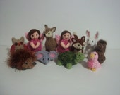 little woodland party friends RESERVED for Amanda
