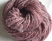 Shades of Rose HANDSPUN Yarn - Wool - 51 yds, Sport Weight