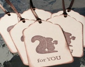 Squirrel For You Gift Tag holiday everyday set six