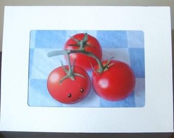 Tomato-chan Greeting Card