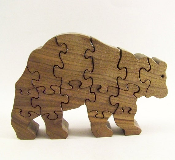 Bear Wood Puzzle