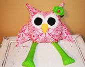Boutique Owl Toy/Pillow