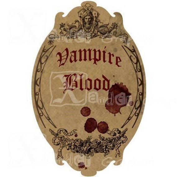 Buy 3 get 1 FREE Haunted Halloween Spooky Bottle Labels 8.5