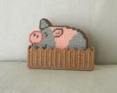 Here piggy, piggy Coaster Set - Kathi2923