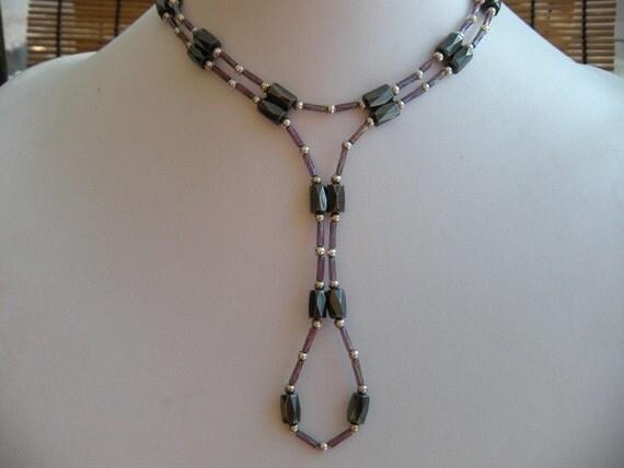 Magnetic Hematite Necklace/ Bracelet
