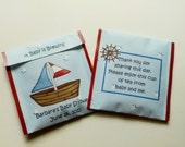 30 Nautical Themed Tea Bag Favors