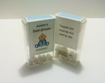 20 Baby Shower Tic Tac Labels
