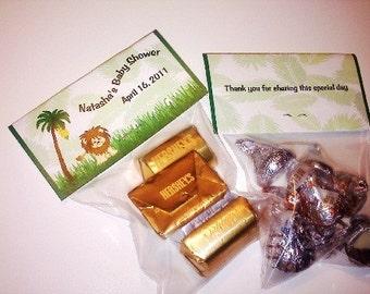 24 Jungle/Safari Themed Bag Toppers