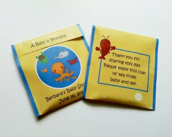 30 Underwater Sea Creature Tea Favors