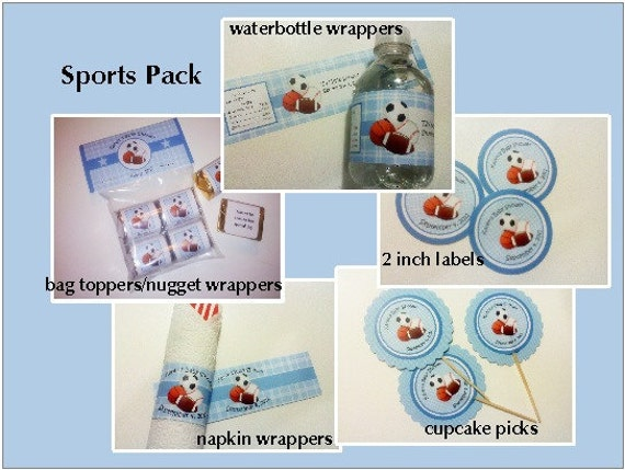 Baby Shower Sports Pack