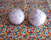 Clean and Soft Pair of Wool Dryer Balls