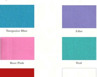 Skinny Headband - 3/8 inch - Choose yellow, fuchsia, turquoise, lilac, rose, teal, red or white