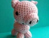 Pete the Pig Amigurumi Doll-Custom Order