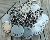 RESERVED for COUIME-Personalized Thanksgiving Dinner Party Wine Charms