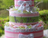 Wrapped In Flowers Cake