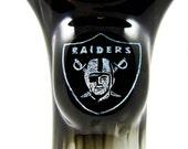 Hand Blown Glass Tobacco Sports Team Dichro Pipe Steelers Raiders Seahawks Broncos