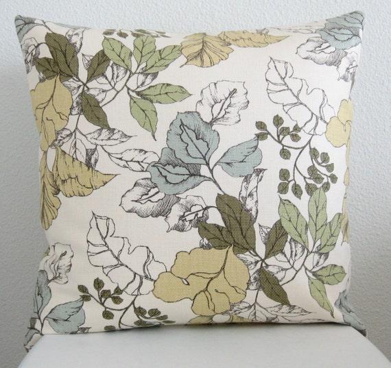 Decorative Pillow Fabric : Designer fabric Decorative pillow throw pillow accent