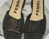 Authentic Fendi Sandals - 8B
