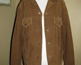 Vintage 60s BROWN Corduroy Wrangler jacket