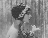 Juliette Compton, Art Deco, Vintage Monochrome Portrait in Photogravure by Hugh Cecil, 1926, Book of Beauty