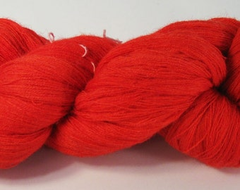 Scarlet--36\/2 Camel\/Cashmere\/Merino 1250 meters