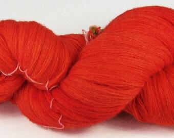 VBR Scarlet--36\/2 Merino\/Angora\/Cashmere 1250 meters