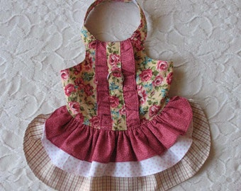 Dog Harness Dress Small