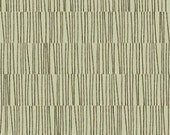 Green Lines from Word Play by Michele D'Amore - SPECIAL PRICE on HALF yard cuts