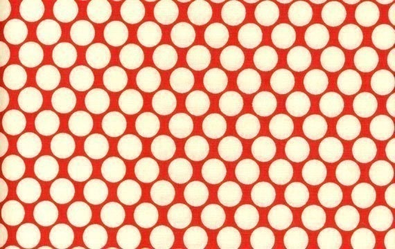 Full Moon Polka Dot Half Yard in Cherry by Amy Butler for Westminster